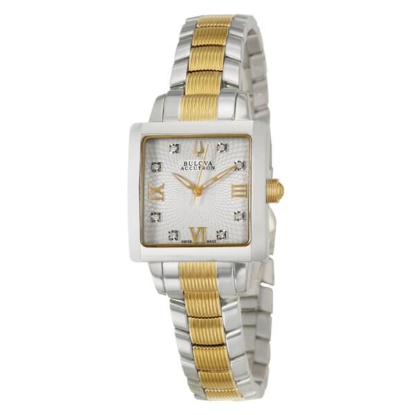 Bulova Accutron Women's 'Masella' Stainless Steel Watch