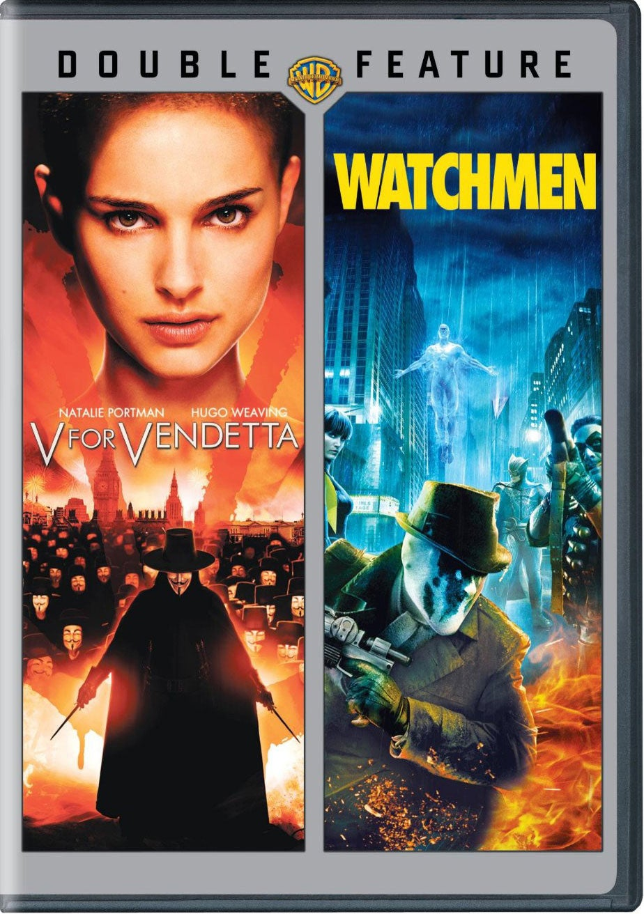 V for Vendetta/Watchmen (DVD)