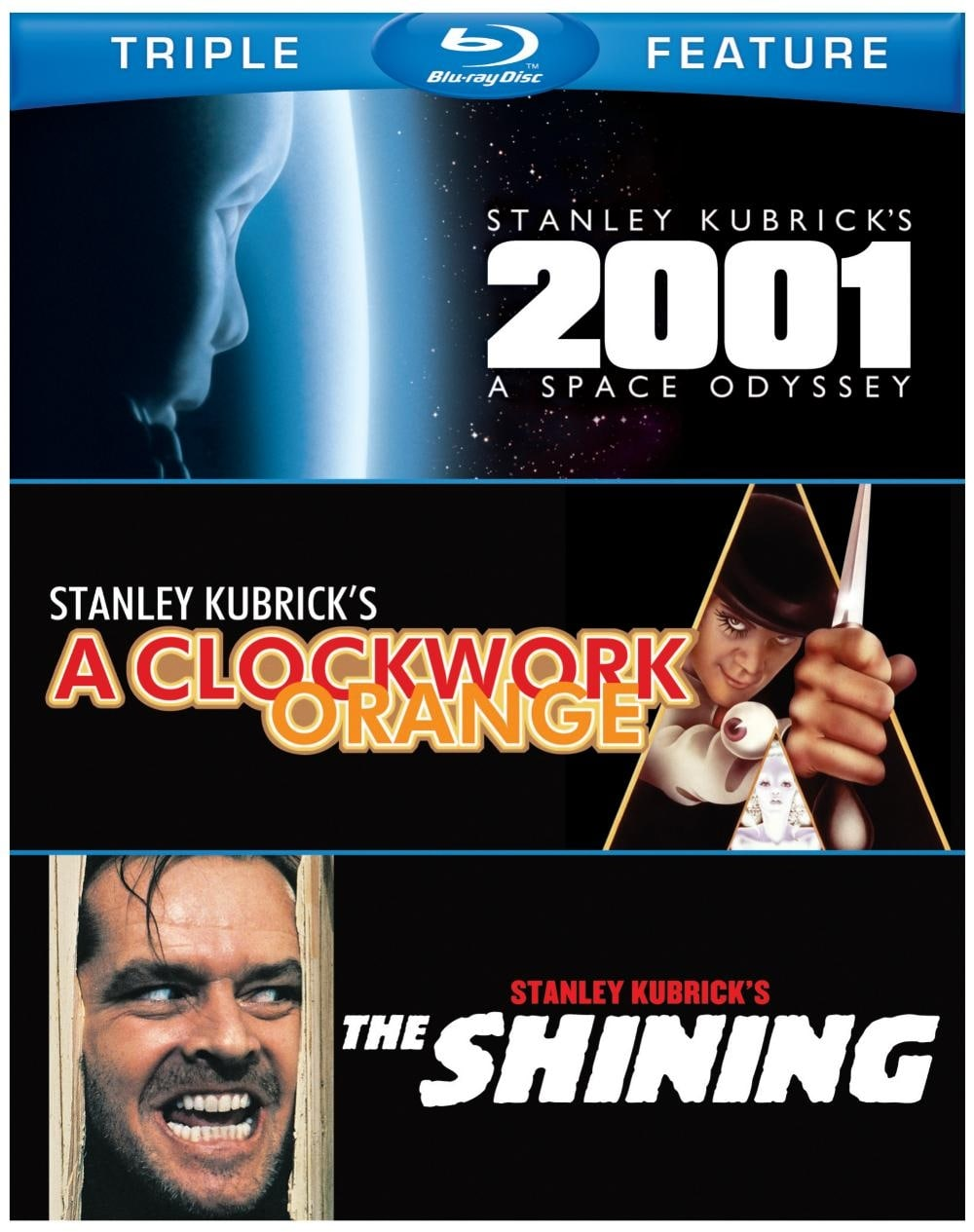 2001: A Space Odyssey/A Clockwork Orange/The Shining (Blu-ray Disc)