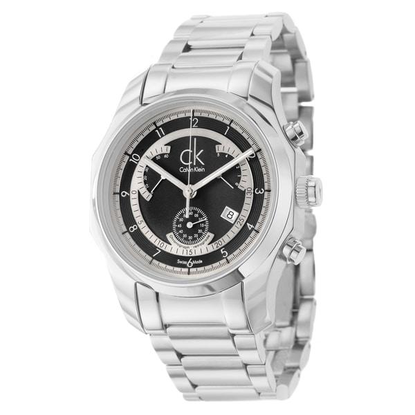 Calvin Klein Men's 'Biz' Stainless Steel Watch
