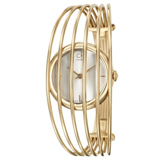 Calvin Klein Women's 'Fly' Rose-gold Plated Watch