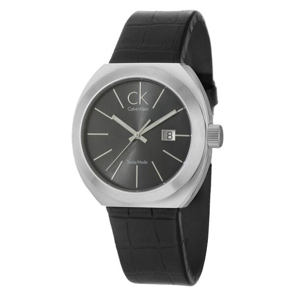 Calvin Klein Men's 'Nation' Stainless-Steel Water-Resistant Watch