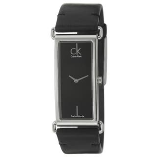 Calvin Klein Women's 'Citified' Black Stainless-Steel Watch|https://ak1.ostkcdn.com/images/products/6958889/Calvin-Klein-Womens-Citified-Black-Stainless-Steel-Watch-P14473863.jpg?impolicy=medium