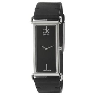 Calvin Klein Women's 'Citified' Black Stainless-Steel Watch