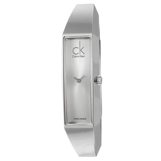 Calvin Klein Women's 'Section' Stainless-Steel Swiss Quartz Watch
