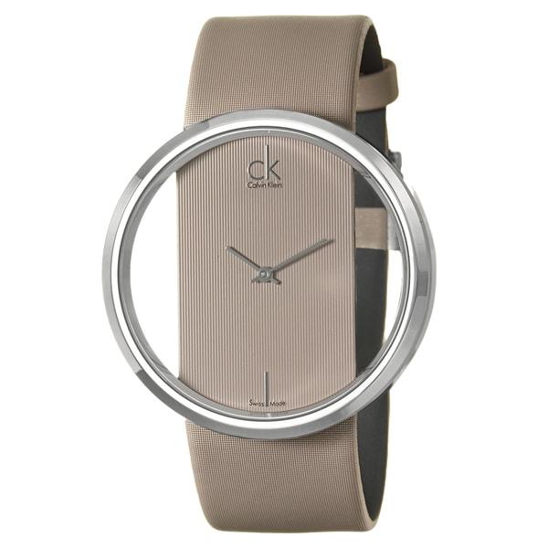 Calvin Klein Women's 'Glam' Stainless Steel Watch