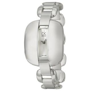 Calvin Klein Women's 'Treasure' Stainless-Steel Mineral Crystal Watch