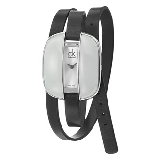 Calvin Klein Women's 'Treasure' Stainless Steel Water-Resistant Watch