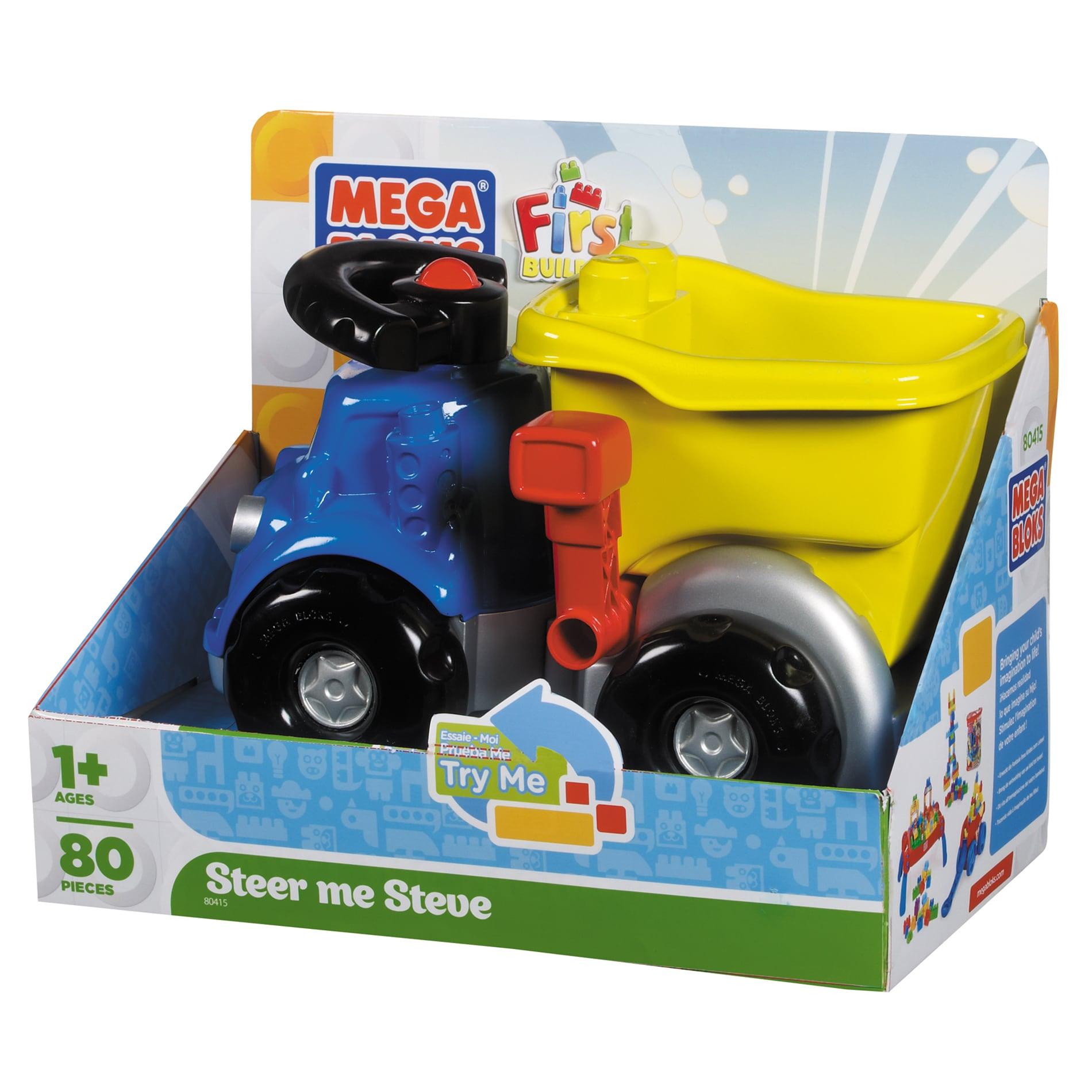 Mega Bloks Steer Me Steve Dump Truck