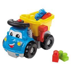 Mega Bloks Steer Me Steve Dump Truck - Thumbnail 1
