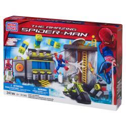 Mega Bloks Amazing Spider-Man Sewer Lab Headquarters Playset