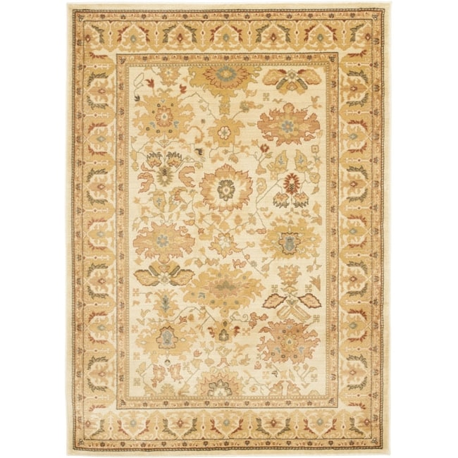 Safavieh Oushak Traditional Cream Rug - 8' x 11'