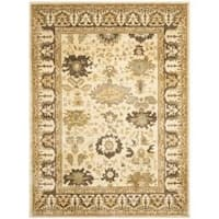 Safavieh Oushak Cream/ Brown Area Rug - 9'6 x 13'