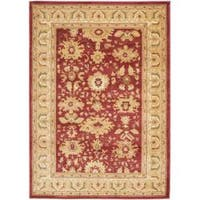 Safavieh Oushak Red/ Cream Rug - 9'6 x 13'
