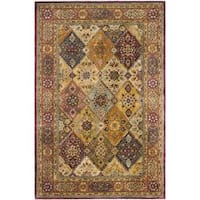 "Safavieh Handmade Persian Legend Multi/ Rust Wool Rug - 8'3"" x 11'"