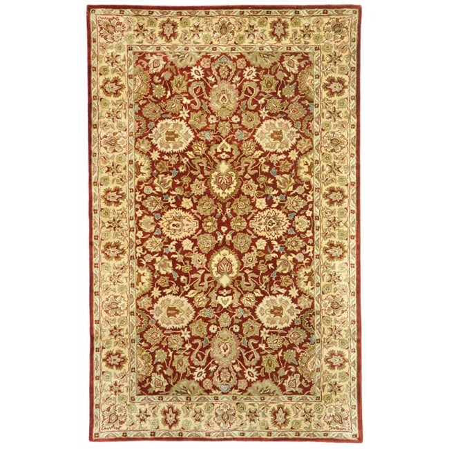 Safavieh Handmade Persian Legend Rust/ Ivory Wool Rug (8'3 x 11') - Thumbnail 0