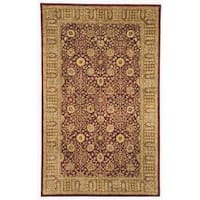Safavieh Handmade Persian Legend Red/ Light Brown Wool Rug - 8' x 10'
