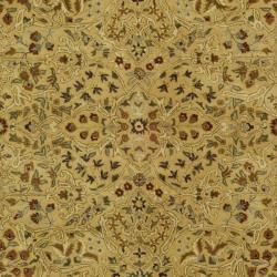 Safavieh Handmade Persian Legend Ivory/ Rust Wool Rug (9'6 x 13'6) - Thumbnail 2