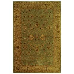 Safavieh Oriental Handmade Persian Legend Blue/ Gold Wool Rug (7'6 x 9'6)