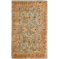 Safavieh Handmade Persian Legend Blue/ Gold Wool Rug (8'3 x 11') - 8'3 x 11'