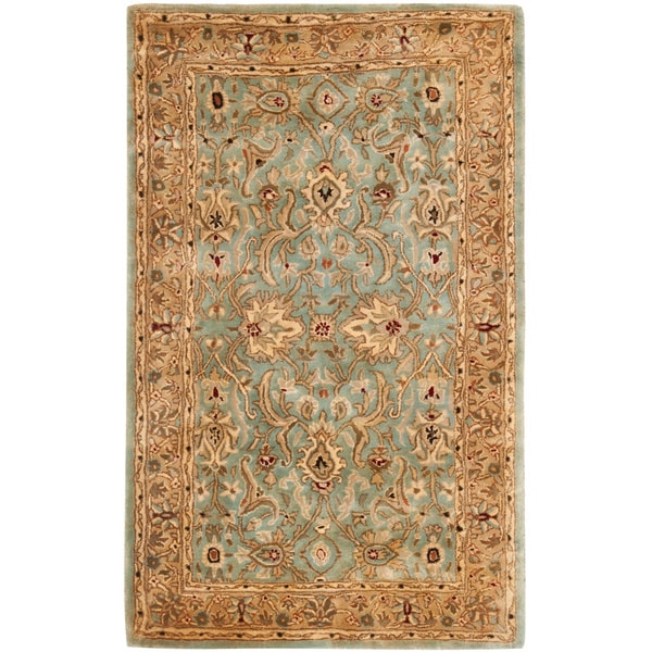 Safavieh Handmade Persian Legend Blue/ Gold Wool Rug - 8'3 x 11'