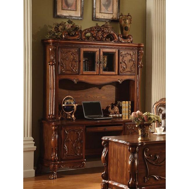 Cherry Oak Finish Dresden Bookcase