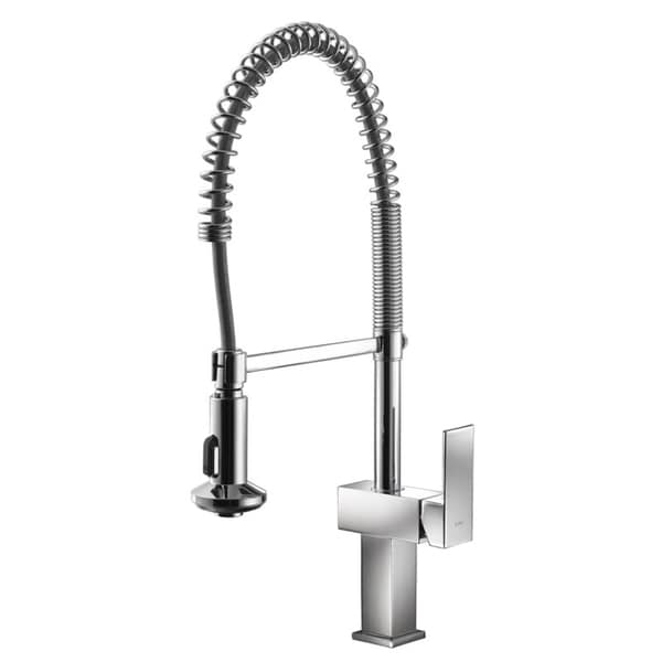 CAE Pull Out Spray Single Handle Kitchen Faucet