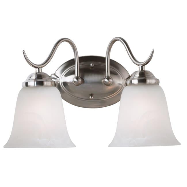 Fletcher Two-Light 100-Watt Vanity