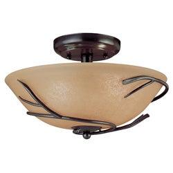 rustic, flush mounts lighting & ceiling fans - shop the best