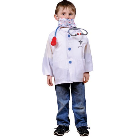 Dress Up America Kids' 'Doctor' Role Play Dress Up Set - One Size Fits Most