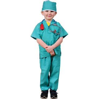 Dress Up America Kids' 'Surgeon' Role Play Dress Up Set
