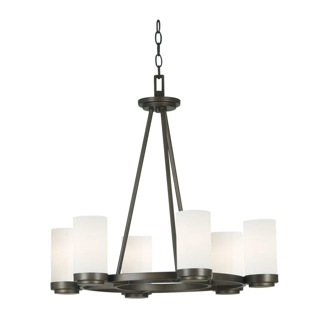 Hamilton 6 light chandelier free shipping today overstock 14474377 hamilton 6 light chandelier aloadofball Image collections