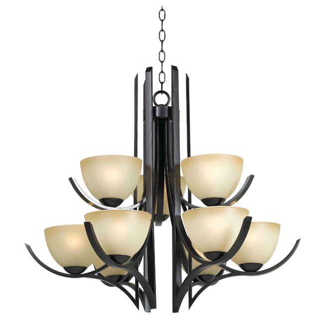 Stitt 9 Light Chandelier