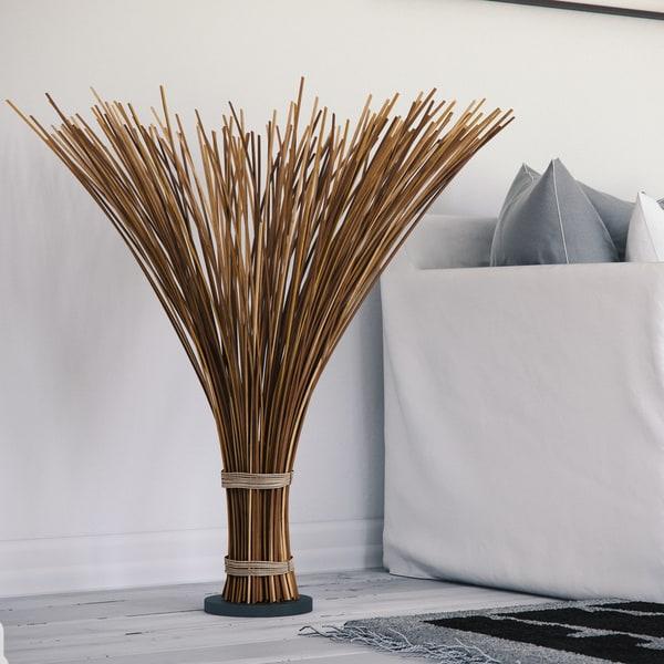 Coastal Natural Reed 46-inch Floor Lamp