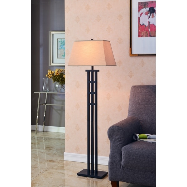 Simone Bronze 58-inch Floor Lamp