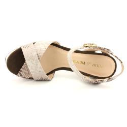 Pour La Victoire Women's 'Neysa' Animal Print Sandals