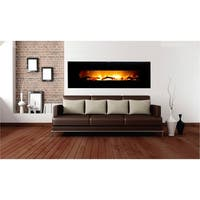 Warmhouse Valencia Extra Wide Wall Mount Electric Fireplace