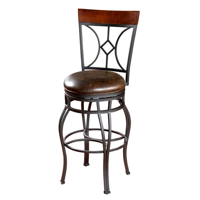Sparta 34-inch Tall Swivel Bar Stool
