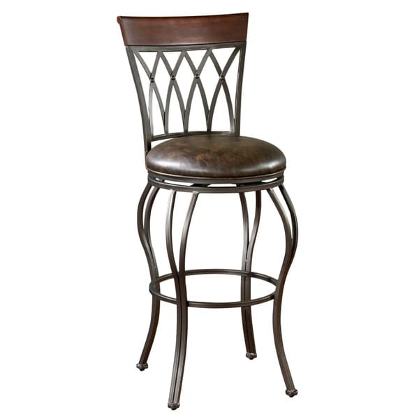 Parmele 26-inch Swivel Counter Stool