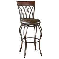 Parmele 34-inch Tall Swivel Bar Stool