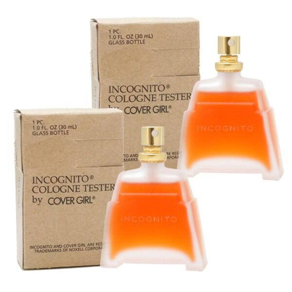 Cover Girl Incognito Women's 1-ounce Eau de Cologne Spray (Pack of 2) (Tester No Cap)