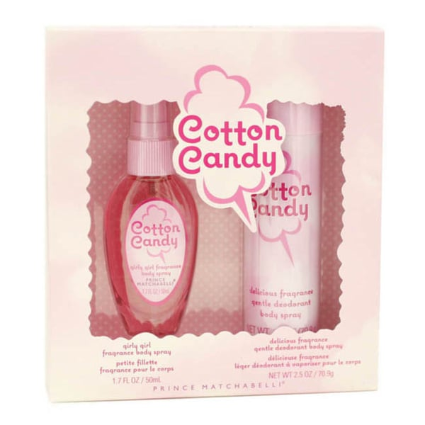 Prince Matchabelli Cotton Candy Women's 2-piece Fragrance Gift Set