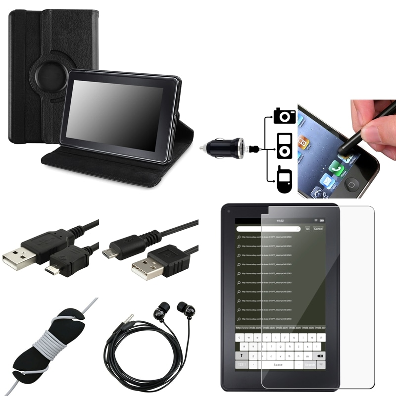Case/ Screen Protector/ Cable/ Stylus/ Charger for Amazon Kindle Fire - Thumbnail 0