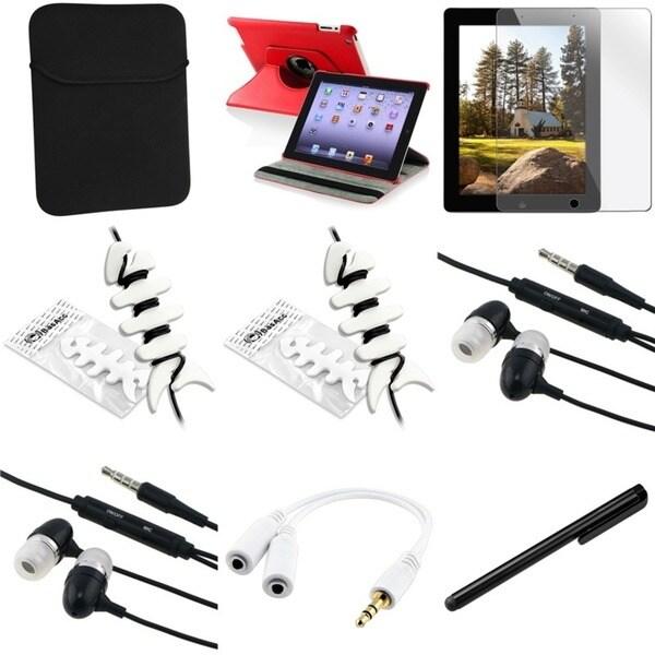 BasAcc Case/ Protector/ Splitter/ Headset/ Stylus for Apple iPad 2/ 3/ New iPad/ 4