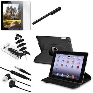 BasAcc Case/ Protector/ Headset/ Stylus for Apple iPad 2/ 3/ New iPad/ 4