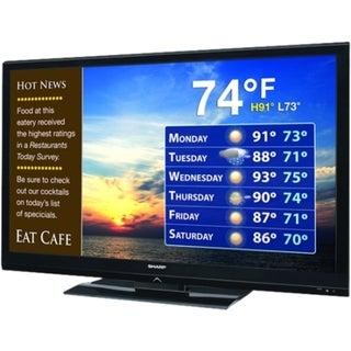 """Sharp AQUOS LB-T462U 46"""" 1080p LED-LCD TV - 16:9 - HDTV 1080p"""