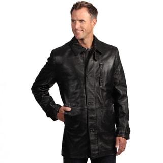Izod Lambskin Leather Coat
