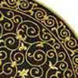 Safavieh Hand-hooked Chelsea Irongate Black Wool Rug (8' Round) - Thumbnail 1