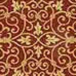 Safavieh Hand-hooked Chelsea Irongate Burgundy Wool Rug (7'6 x 9'6 Oval) - Thumbnail 2