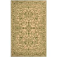 Safavieh Hand-hooked Chelsea Irongate Yellow Wool Rug - 2'6 x 4'